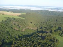 Pohled z balonu