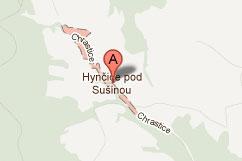 chata obchodka na google mapy
