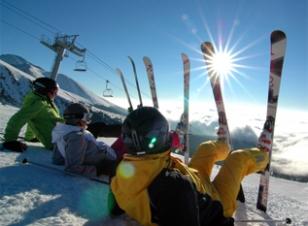 Lyžování, snowboarding...